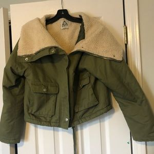 unif army green jacket